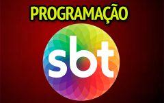 Programação SBT desta semana 23/02 a 29/02